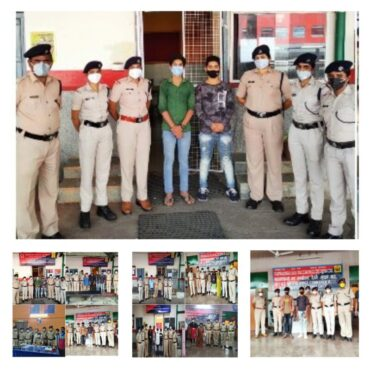 20 Trafficked Children rescued Under RPF's Operation Nanhe Farishte by RPF Bengaluru Division