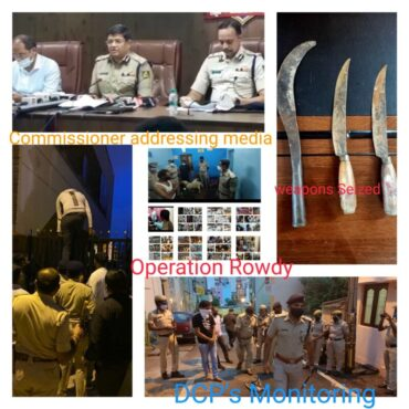 First time in the history Major raid by Bengaluru police,CCB,on Central Jail and Homes of History-Sheeters,Weapons,SimCards,Narcotics,561 cases registered -Kamal Pant