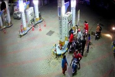 Bengaluru: Bike borne miscreants wield machetes at petrol bunk staff, loot Rs.43,000
