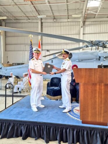 Indian Navy accepts first batch of two MH-60r Multi Role Helicopters (MRH)