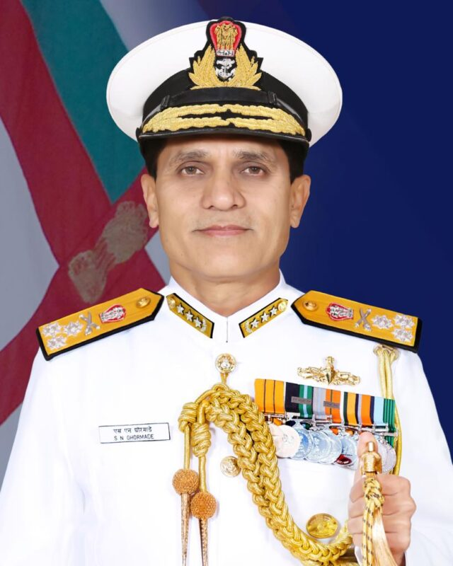Vice Admiral SN Ghormade, AVSM, NM assumes charge as Vice Chief of the Naval Staff