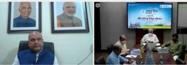 Union Minister Shri Narendra Singh Tomar flags off Crop Insurance Week