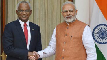 Phone call between Prime Minister Shri Narendra Modi and H.E. Ibrahim Mohamed Solih, President of the Republic of Maldives
