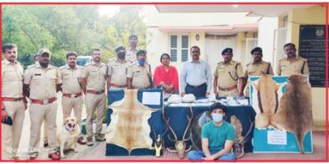Techie held for holding illegally articles made by wildlife and marine