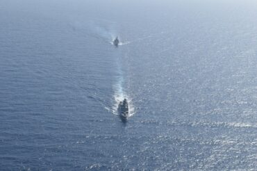Indian Navy's Maiden Exercise with Algerian Navy