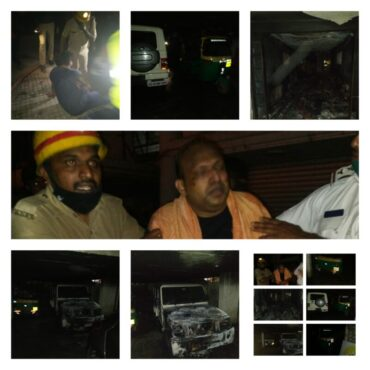 Fire in Bengaluru Ajanta Trinity Hotel,7 Rescued