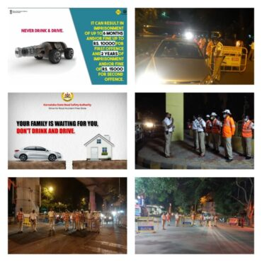 Bengaluru Traffic Police resumes drive to check drunk driving,44 person booked in 3 hours special drive