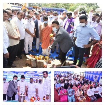 BBMP Hafiza School Renovation & New Building Construction Work &Ground Breaking Ceremony