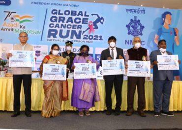NMDC partners with Grace Cancer Foundation for Freedom Run 2021, as part of its celebrations of AzadiKaAmritMahotsav