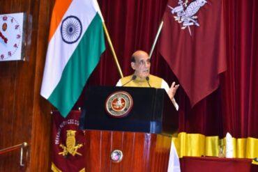 Raksha Mantri Shri Rajnath Singh addresses graduates of 59th National Defence College course
