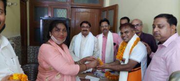 पुर्वांचल शक्ति टीम (आप ) दक्षिणी दिल्ली लोक सभा की बैठक सम्पन्न ।