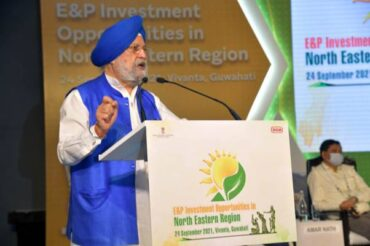Conference on Oil and Gas opportunities in North Eastern Region held today  Shri Hardeep Singh Puri says that Oil and Gas Projects worth Rs 1 lakh Crore are approved for North Eastern Region and are expected to be completed by 2025