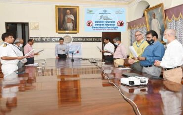 Swachhata Pakhwada Observed in Mumbai Port Trust