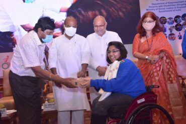 Ministry of Social Justice & Empowerment felicitates Tokyo 2020 Paralympic medal winners & members of the Indian contingent