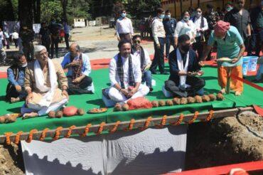 Union Minister for DoNER Shri G Kishan Reddy visits Arunachal Pradesh and Nagaland