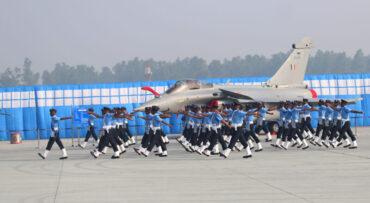 जाबाजों ने दिखाया शोर्य धूम धाम से मनाया गया 89वां भारतीय वायु सेना दिवस