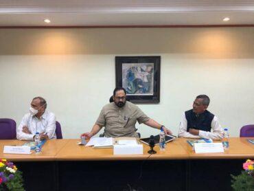 Union Minister of State Rajeev Chandrasekhar Visits CDAC Bangalore