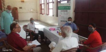 निःशुल्क स्वास्थ्य जांच शिविर का आयोजन